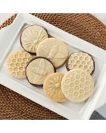 Nordic Ware Honey Bees Cookie Stamps (01250) lifestyle