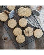 Nordic Ware Greetings Heirloom Cookie Stamps (01280) rack