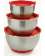 Norpro Mixing Bowl Set with Lids: 3 Pieces, Model 10466