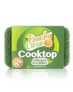 Peachy Clean Cooktop Scrubber