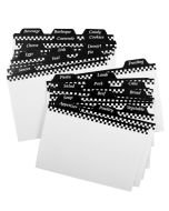 Weatherbee Recipe Card Dividers from Harold Imports