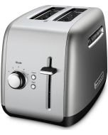 Kitchen Aid Toaster - 2 Slice with Manual Lift Lever in Contour Silver