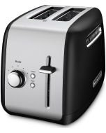 Kitchen Aid Toaster - 2 Slice with Manual Lift Lever in Onyx Black