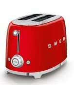 SMEG 50's Retro 2-Slice Toaster - Red