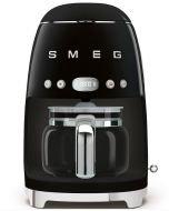 SMEG 50's Retro Drip Coffee Maker - Black - DCF02BLUS