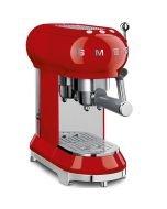 SMEG 50's Retro Style Espresso Machine | Red