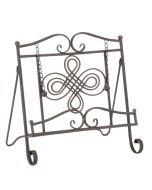 Tripar Swirl Design Metal Cookbook Stand - 58915
