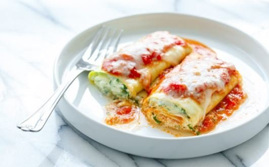 KitchenAid Zucchini Lasagna Rolls for Vegetable Sheet Cutter