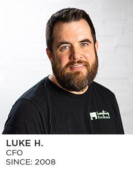Luke H., CFO and Human Resources, Since 2008