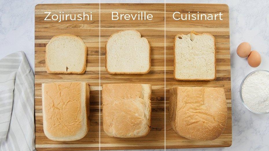 Top Bread Machine Comparison  - Zojirushi, Breville, Cuisinart