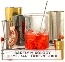 Barfly Mixology Home-Bar Tools & Guide