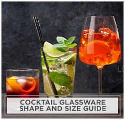 Cocktail Glassware Shape and Size Guide
