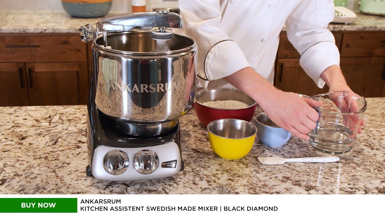Ankarsrum Kitchen Assistent Swedish Made Mixer | Black Diamond