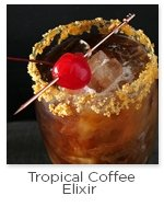 Tropical Coffee Elixir Cold Brew Cocktail