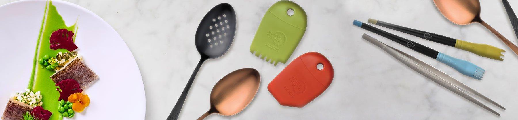 Photo of garnishing tools.