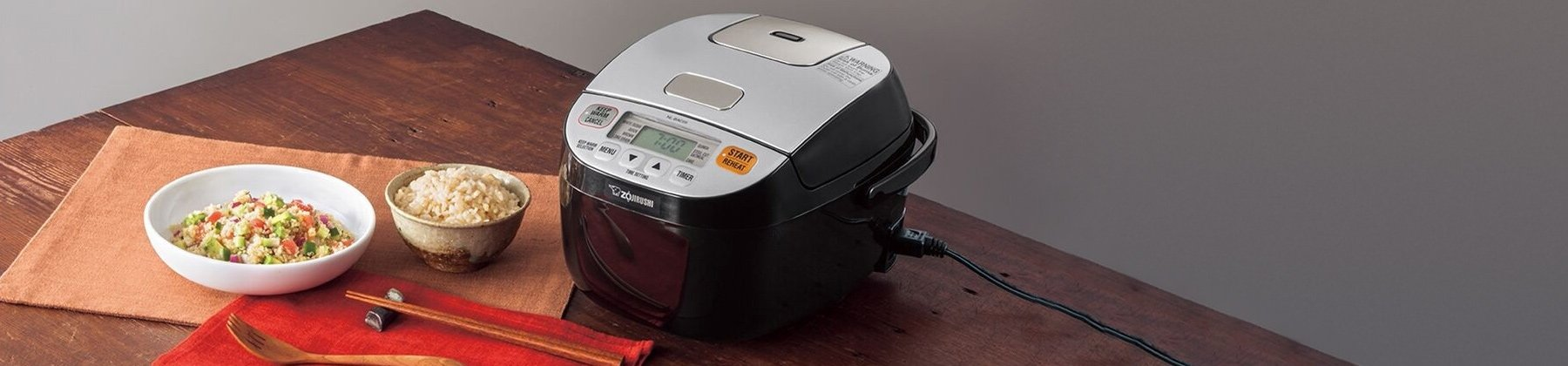 Photo of rice cookers.