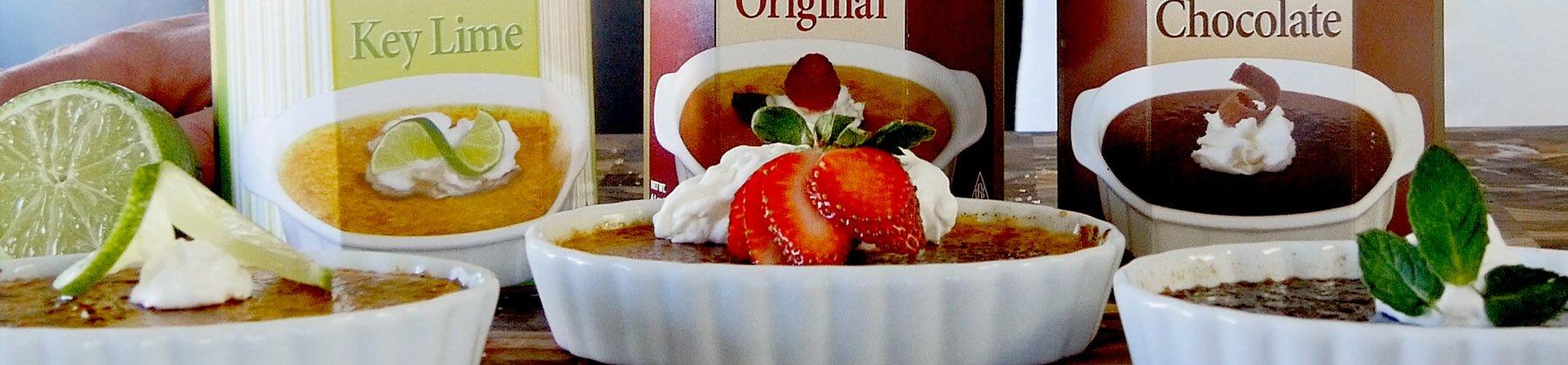 Photo of Xcell dessert mixes.
