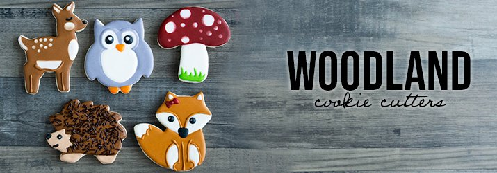 Shop Woodland Cookie Cutters