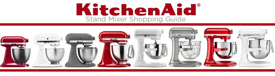 Kitchen Aid Stand Mixer Review Header Image